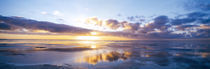 Sunrise On Beach, North Sea, Germany by Panoramic Images