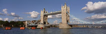 Bridge Over A River, Tower Bridge, Thames River, London, England, United Kingdom von Panoramic Images