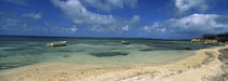 Boats in the sea, North coast of Antigua, Antigua and Barbuda by Panoramic Images