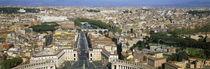 St. Peter's Basilica, Vatican City, Rome, Lazio, Italy von Panoramic Images