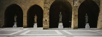 Statues in a palace, Palace Of The Grand Masters of the Knights, Rhodes, Greece von Panoramic Images