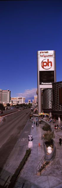 Buildings in a city, The Strip, Las Vegas, Nevada, USA by Panoramic Images