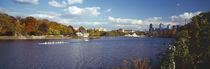Boat in the river, Schuylkill River, Philadelphia, Pennsylvania, USA by Panoramic Images