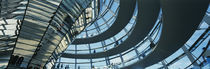 Glass Dome Reichstag Berlin Germany by Panoramic Images