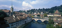 Switzerland, Bern, Aare River by Panoramic Images