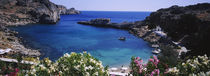 High angle view of a coastline, Rhodes, Greece by Panoramic Images