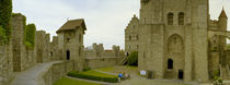 Facade of a castle, Gravensteen Castle, Ghent, East Flanders, Belgium by Panoramic Images