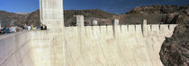 Tourists on a dam, Hoover Dam, Arizona and Nevada, USA von Panoramic Images