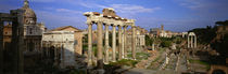 Forum, Rome, Italy by Panoramic Images