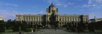 Facade of a museum, Museum Of Fine Arts, Vienna, Austria by Panoramic Images