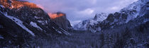 Sunlight falling on a mountain range, Yosemite National Park, California, USA by Panoramic Images