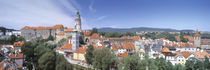 Buildings in a city, Cesky Krumlov, South Bohemia, Czech Republic by Panoramic Images