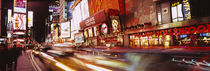 Traffic on the road, Times Square, Manhattan, New York City, New York State, USA von Panoramic Images