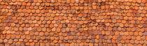 Close-Up Of Old Roof Tiles, Rothenburg, Germany von Panoramic Images