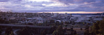 High angle view of a city, Tacoma, Pierce County, Washington State, USA 2010 by Panoramic Images