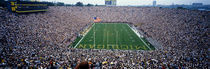 University Of Michigan Football Game, Michigan Stadium, Ann Arbor, Michigan, USA by Panoramic Images