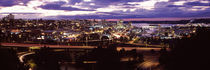 Aerial view of a city, Tacoma, Pierce County, Washington State, USA 2010 by Panoramic Images