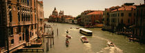 High angle view of boats in water, Venice, Italy von Panoramic Images