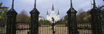Facade of a church, St. Louis Cathedral, New Orleans, Louisiana, USA von Panoramic Images