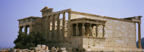 Ruins of an ancient building, Erechtheion, Athens, Greece by Panoramic Images
