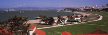 Buildings in a park, Crissy Field, San Francisco, California, USA by Panoramic Images