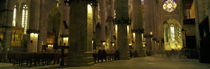 Interiors of a cathedral, La Seu, Palma, Majorca, Balearic Islands, Spain von Panoramic Images