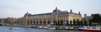 Museum on a riverbank, Musee D'Orsay, Paris, France by Panoramic Images
