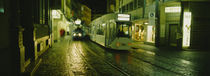 Cable Cars Moving On A Street, Freiburg, Germany by Panoramic Images