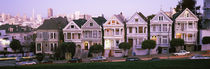 The Seven Sisters, Painted Ladies, Alamo Square, San Francisco, California, USA by Panoramic Images