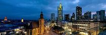 Hauptwache, Frankfurt, Hesse, Germany von Panoramic Images