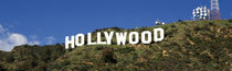 Hollywood Sign At Hollywood Hills, Los Angeles, California, USA by Panoramic Images
