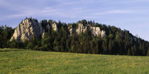 Limestone Rocks in St Brais Mts of Jura Afternoon Nr French Border Switzerland by Panoramic Images