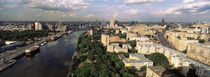 Aerial view of a city, Moscow, Russia von Panoramic Images