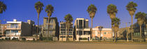 Buildings in a city, Venice Beach, City of Los Angeles, California, USA von Panoramic Images