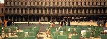Tourists outside of a building, Venice, Italy von Panoramic Images