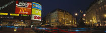 Piccadilly Circus, London, England, United Kingdom by Panoramic Images