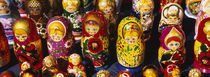 Close-up of Russian nesting dolls, Bulgaria by Panoramic Images