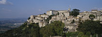 Houses on the top of a hill, Todi, Perugia, Umbria, Italy by Panoramic Images