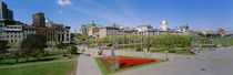 Buildings in a city, Place Jacques Cartier, Montreal, Quebec, Canada by Panoramic Images