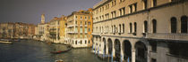 Buildings along a canal, Grand Canal, Venice, Veneto, Italy von Panoramic Images