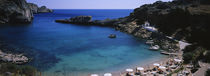 High angle view of a beach, Acropolis, Rhodes, Greece by Panoramic Images
