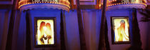 Strip club lit up at night, Las Vegas, Nevada, USA by Panoramic Images