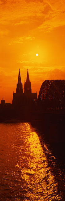 Hohenzollern Bridge, Cologne, Germany von Panoramic Images