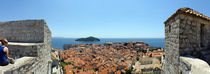 Island in the sea, Adriatic Sea, Lokrum Island, Dubrovnik, Croatia von Panoramic Images