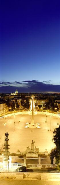 Piazza del Popolo, Rome, Italy von Panoramic Images