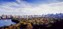 Buildings in a city, Central Park, Manhattan, New York City, New York State, USA by Panoramic Images