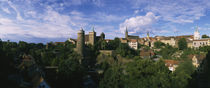 Castle in a city, Bautzen, Saxony, Germany von Panoramic Images