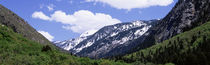 Clouds over mountains, Little Cottonwood Canyon, Salt Lake City, Utah, USA by Panoramic Images