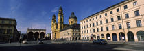 Theatine Church, Odeonsplatz, Munich, Bavaria, Germany von Panoramic Images