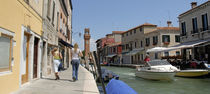 Boats in a canal, Murano, Venice, Italy by Panoramic Images